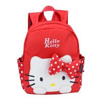 宝宝书包幼儿园女孩可爱小孩双肩包卡通KITTY猫米老鼠