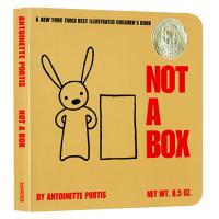 这不是个箱子 英文原版 Not a Box 儿童创意绘本 苏斯奖 吴敏兰书单 不止是个盒子 英文版英语入门启蒙纸板书 现