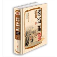 唐诗宋词元曲图解详析. 肖文飒 北京仓 9787550237360 文学 中国古诗词