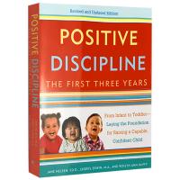 现货正版 正面管教1-3岁幼儿童 英文原版 Positive Discipline: The First Three Y