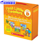 小读者系列 First Little Readers: Guided Reading Level D 学乐阅读指导 D