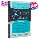 30天掌握更强大的词汇量 英文原版 30 Days to a More Powerful Vocabulary