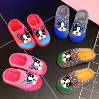 乌龟先森 儿童拖鞋 男女童室内可爱防滑保暖鞋子冬季新款韩版儿童时尚休闲舒适家居鞋
