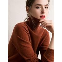 羊绒衫女秋冬新款短款套头保暖宽松针织打底衫羊绒毛衣女