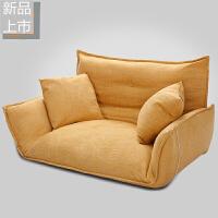 懒人沙发榻榻米小户型客厅卧室布艺双人可折叠多功能沙发床可拆洗定制