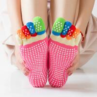 健身瑜伽袜五指袜女瑜伽袜子透气吸汗防滑女女瑜珈袜棉