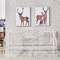 北欧工业风服装店ins网红铁艺沙发单人 简约现代椅卧室书房工作室 单人
