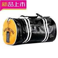 健身包运动包男女单肩包斜挎手提训练包鞋位篮球包圆筒旅行包小潮