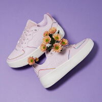 【�B券�A估�r:71】361女鞋板鞋2020春季新款官方皮面�W生厚底休�e鞋子白色�\�有�女