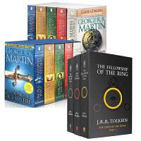 冰与火之歌 霍比特人 英文原版A Song of Ice and Fire1-5全集美版盒装&The Lord of