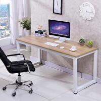 简易电脑桌台式办公桌书桌桌子家用桌写字台双人电脑桌办公桌