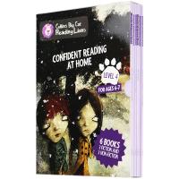 大猫英语分级阅读四级 英文原版Collins Big Cat 4 Confident Reading 柯林斯大猫英语家