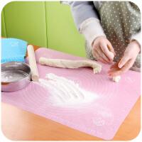 居家家 厨房烘焙工具硅胶揉面垫大号案板 加厚和面垫子擀面硅胶垫
