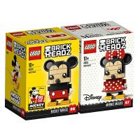 乐高LEGO方头仔系列迪士尼米奇41624/米妮41625小颗粒积木