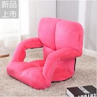 懒人沙发 榻榻米可折叠单人小沙发宿舍床上电脑靠背椅飘窗椅阳台定制