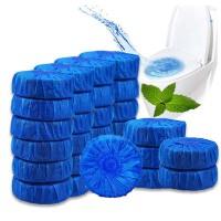 马桶清洁剂蓝泡泡洗厕所除臭洁厕宝液灵去污洁厕球清香型马桶清洁剂蓝泡泡