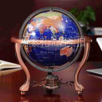 地球仪摆件工艺品天然大理石办公室摆设装饰品乔迁开业礼品 创意礼品