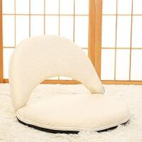懒人沙发无腿椅休闲小凳子可拆洗折叠榻榻米坐椅子床上靠背椅