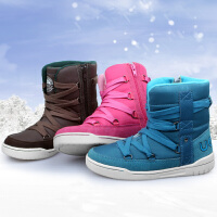 【每满100减50 上不封顶】 UOVO冬季新款童鞋男童鞋女童棉鞋儿童雪地靴保暖童靴男孩女孩时尚冬靴子 柏林