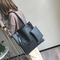 日韩女包新款大容量托特包单肩包手提包女百搭大包包潮大学生包包