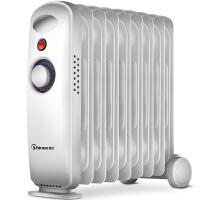 【当当自营】赛亿(Shinee)取暖器家用/取暖电器/电暖器/电暖气片9片迷你电热油汀 OFR-1510-9