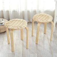 冬季餐椅垫椅子坐垫布艺绑带毛绒坐垫椅垫加厚办公室垫子汽车座垫