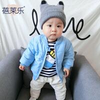 女宝宝衣服冬季1岁6个月童新生儿棉衣外套冬季婴儿加厚外出服新年
