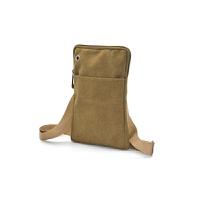 费实用男女腰包8寸8.4寸平板电脑包手机腰包斜挎包帆布包
