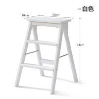 实木折叠凳子家用梯凳简约现代便携折叠凳创意厨房高凳板凳