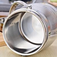 餐厅不锈钢大容量饭桶商用保温饭盒酒店饭店专用盛饭手提锅