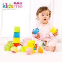 亲亲我 婴儿戏水玩具礼盒 宝宝洗澡玩具 儿童玩具套装礼盒908958