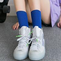 袜子女秋冬中筒袜纯棉可爱长筒袜女秋冬百搭潮流长袜堆堆袜