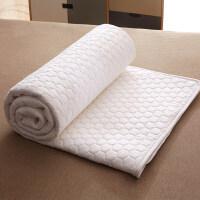 薄款泰国乳胶床垫软垫褥子垫子保护垫防滑床褥双人家用薄夏天夏季 白