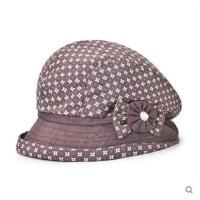女帽防晒中老年女士遮阳帽子中年女帽布帽妈妈帽太阳帽子