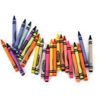 美国Crayola绘儿乐彩色儿童蜡笔不脏手 宝宝玩具蜡笔无毒24色48色