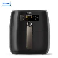 飞利浦(PHILIPS) 空气炸锅 家用无油智能电炸锅多功能薯条机大容量 HD9749/91黑色可减少90%油脂