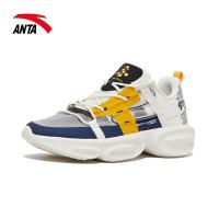 【满99-20】安踏运动鞋男鞋2021新款网面透气综训跑步鞋男士旅游鞋112037789