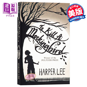 杀死一只知更鸟 英文原版小说 英文版 英文原版书 To Kill a Mockingbird Harper Lee【中商原版 】