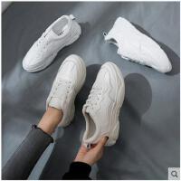 小白鞋女冬新款百搭基础帆布鞋子山本风网红超火学生运动鞋女