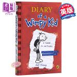 【中商原版】小屁孩日记1 英文原版绘本 漫画 Diary of a Wimpy Kid # 1小屁孩 绘本 书 小说