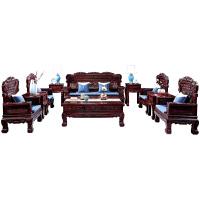沙发椅组合木客厅中式仿古会客茶几明清仿新古典实木家具 组合