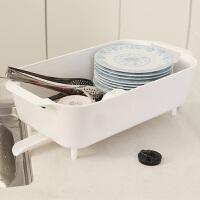厨房置物架碗架塑料沥水盘杯碟架多功能沥水架1081