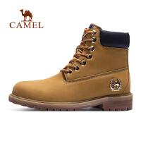 camel骆驼工装靴 秋冬季男款减震防滑工装鞋厚底耐磨男靴