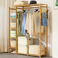 衣柜简易布艺收纳整理储物柜加固衣橱实木挂单双人组装宿舍