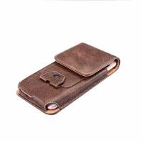6.0寸华为MATE8竖款腰包耳线扣穿皮带腰挂9皮套男士袋7复古手机包