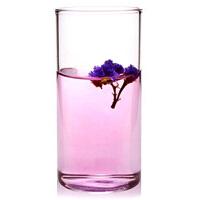 直筒透明耐�岵A�水杯 �k公杯 300ml果汁杯 玻璃杯透明果汁杯耐��o�w牛奶杯水杯杯子