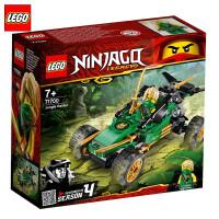 【当当自营】LEGO乐高积木 幻影忍者Ninjago系列71700 丛林冲锋车小颗粒拼插积木玩具 2020年1月新品