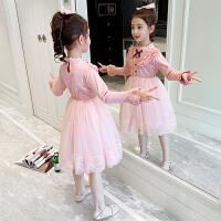 女童春装连衣裙子儿童装大童春款公主洋气夏装春秋