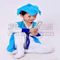 国学服装 读书郎三字经表演出服装 书童演出服装 弟子规六一儿童古装汉服