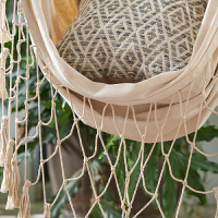 吊床秋千椅创意室内户外家用摇椅阳台布艺懒人吊椅新品